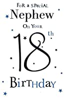 Special Nephew 18th Birthday Birthday Card by ic&g Cards