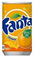 【コカコーラ社商品以外同梱不可】 ファンタオレンジ160ml缶×30本 1ケース
