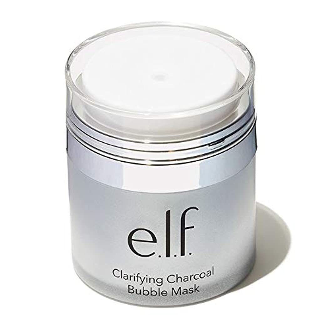 マーキー欠如食物e.l.f. Clarifying Charcoal Bubble Mask (並行輸入品)