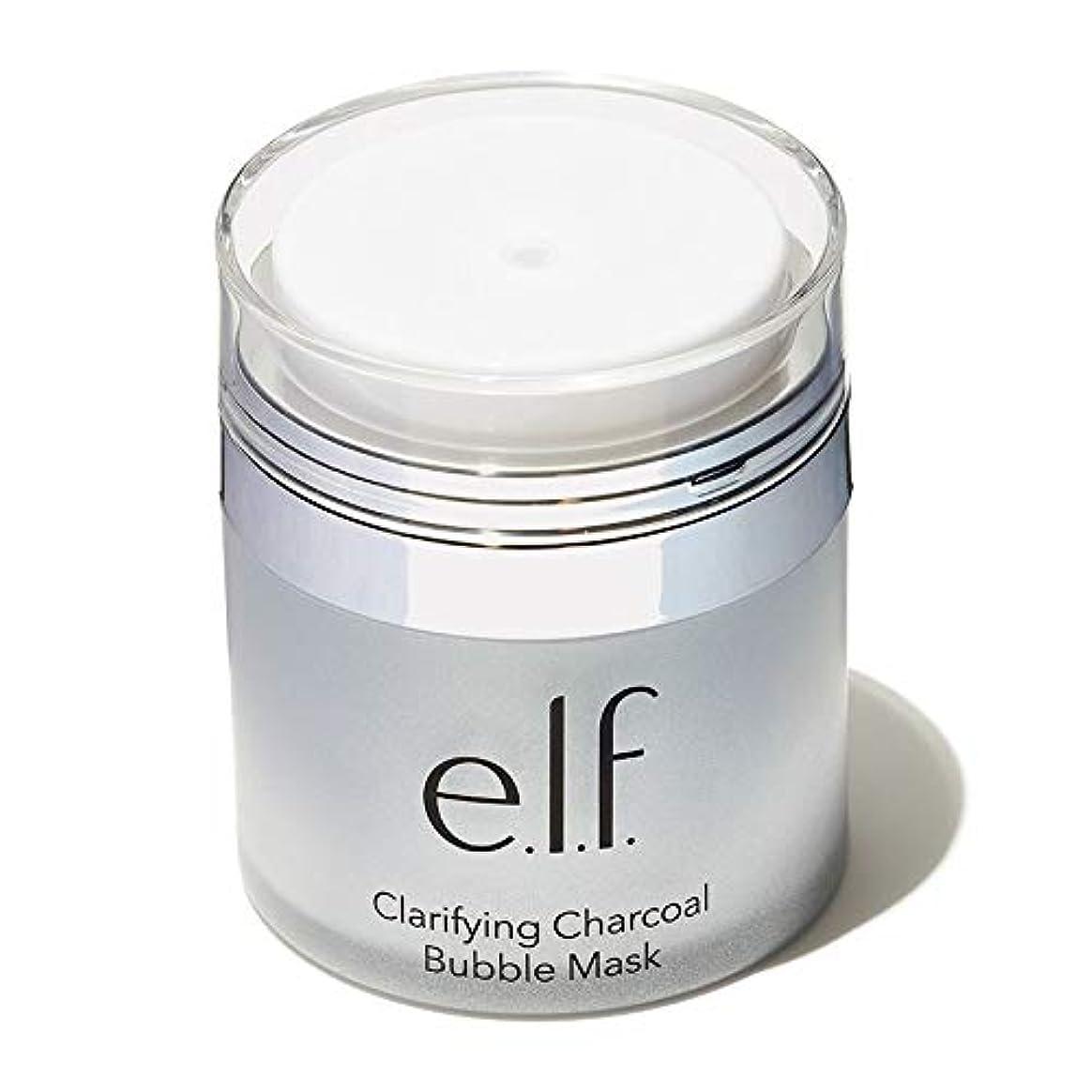 職業野球日没(6 Pack) e.l.f. Clarifying Charcoal Bubble Mask (並行輸入品)