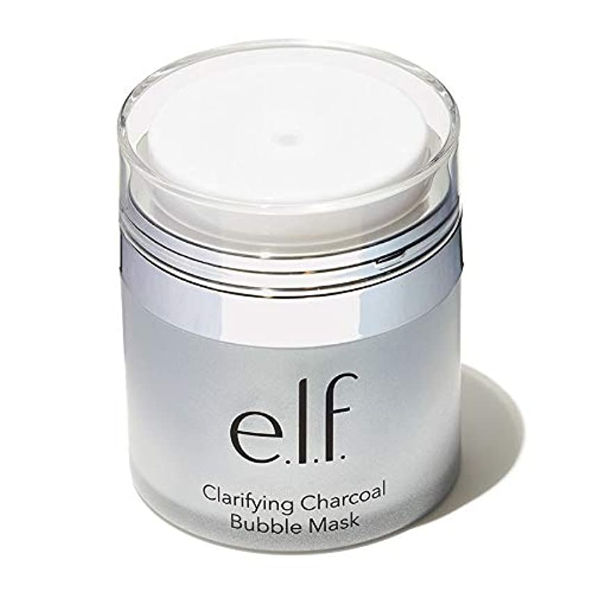 緊急時間闇e.l.f. Clarifying Charcoal Bubble Mask (並行輸入品)