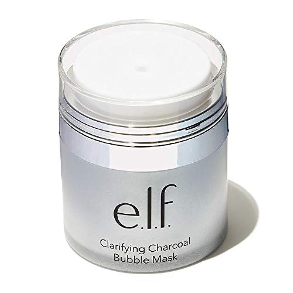 不振マスタード寄り添う(6 Pack) e.l.f. Clarifying Charcoal Bubble Mask (並行輸入品)