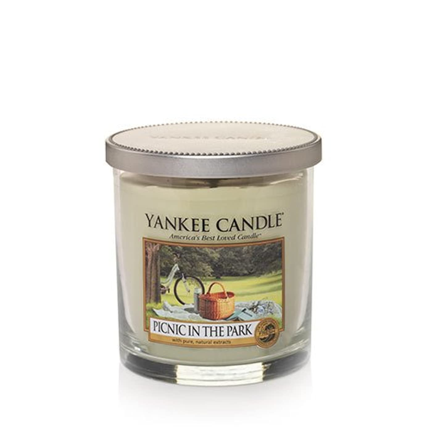 ブラシ司教テニスYankee Candleピクニック公園で、新鮮な香り Small Tumbler Candles 1323009-YC