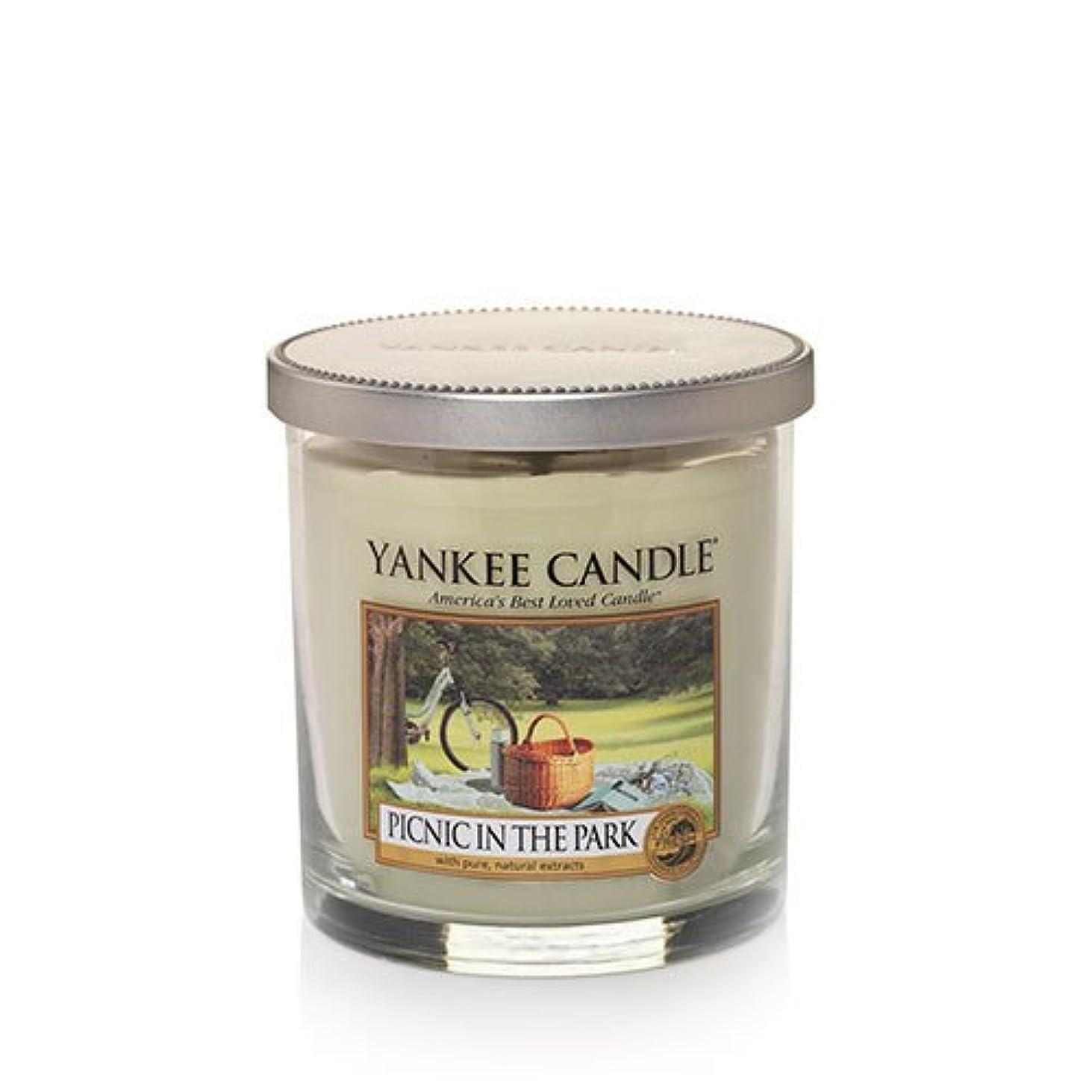 集まる美しいセンサーYankee Candleピクニック公園で、新鮮な香り Small Tumbler Candles 1323009-YC