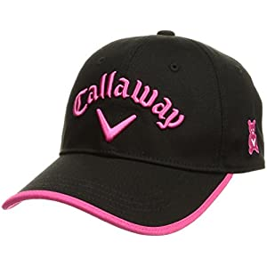 (キャロウェイ アパレル) Callaway Apparel [ レディース] 定番 ロゴ入り キャップ (サイズ調整) / 247-8984902 / 帽子 ゴルフ 247-8984902 010 010_ブラック FR