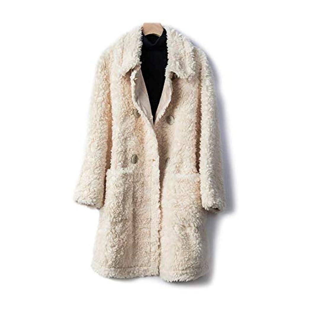 物理的にバイソン線ウールコート、ダブルブレストウールコートコート19秋と冬婦人服婦人ジャケット婦人コート婦人ウインドブレーカージャケット,D,M