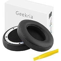 Geekria イヤーパッド Beats Studio3, Beats by Dr.Dre ワイヤレスヘッドホン Studio3 Wireless Bluetooth 等対応交換用 ヘッドホンパッド イヤークッション