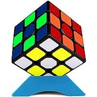 QiYi QiHang 3x3 立体パズル 【6面完成攻略書付き】競技用 ポップ防止 (QiYi Sticker)