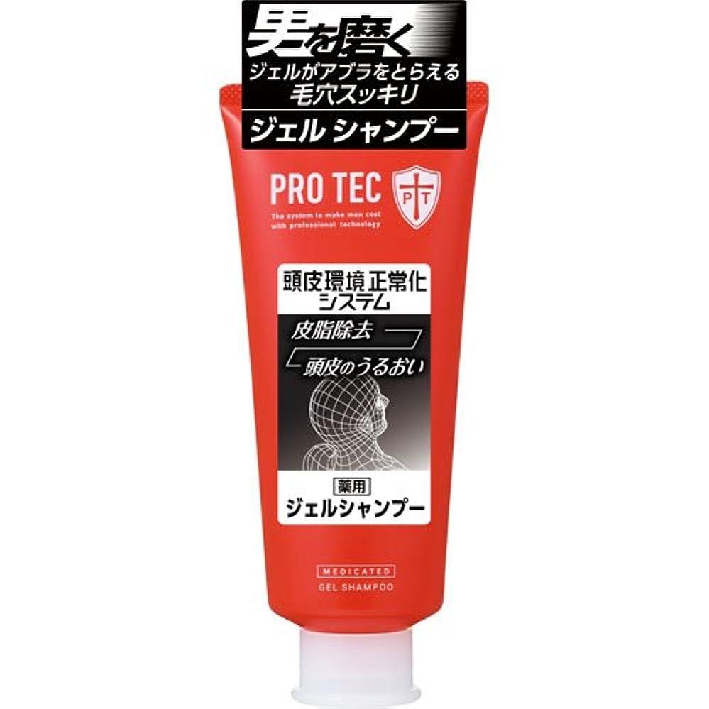 床くさび才能PRO TEC ジェルシャンプー 180g