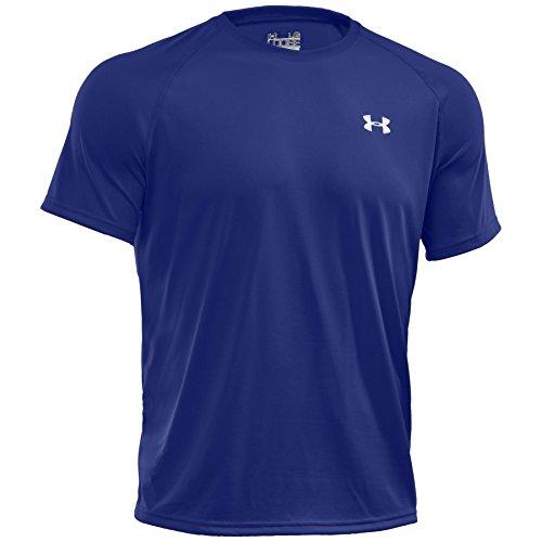 Corp. Apparel UNDER ARMOUR(アンダーアーマー) UA テックTシャツ(トレーニング/Tシャツ/MEN)『1228539』 (400)Royal/White LG