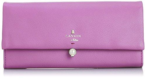 [ランバンオンブルー] LANVIN en Bleu Amazon公式 正規品 シャペル フラップ長財布