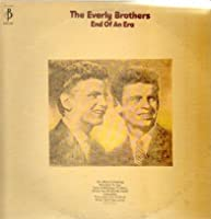 EVERLY BROTHERS - end of an era BARNABY 30260 (LP vinyl record)