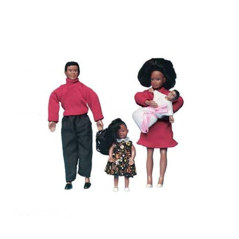 ドールハウスミニチュアAfrican AmericanドールハウスFamily by