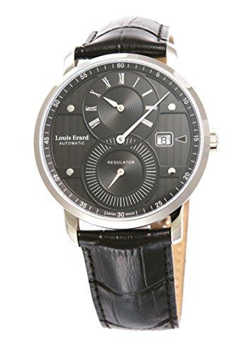 [ルイ・エラール]Louis Erard 腕時計 EXCELLENCE Regulator エクセレンス レギュレーター ブラックダイアル メンズ [並行輸入品]