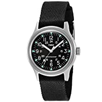 Timex Camper 36 mm Black Dial Watch TW2R58300