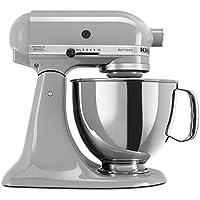 KitchenAid 5クォート KSM150 アーティシャン・シリーズ キッチンエイドミキサー (Metallic Chrome) 【並行輸入品】