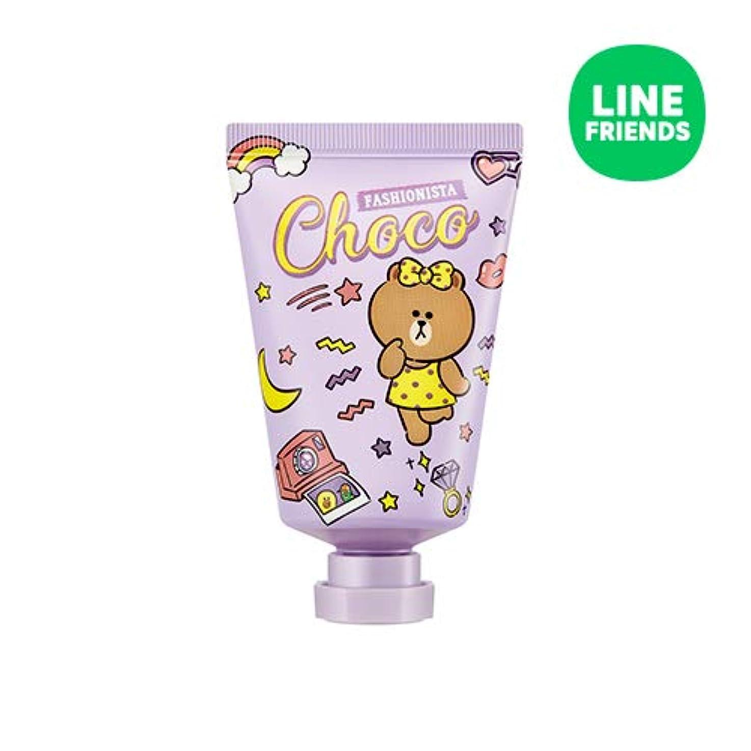 間接的グロー川ミシャ(ラインフレンズ)ラブシークレットハンドクリーム 30ml MISSHA [Line Friends Edition] Love Secret Hand Cream - Choco # Pitch Cocktail...