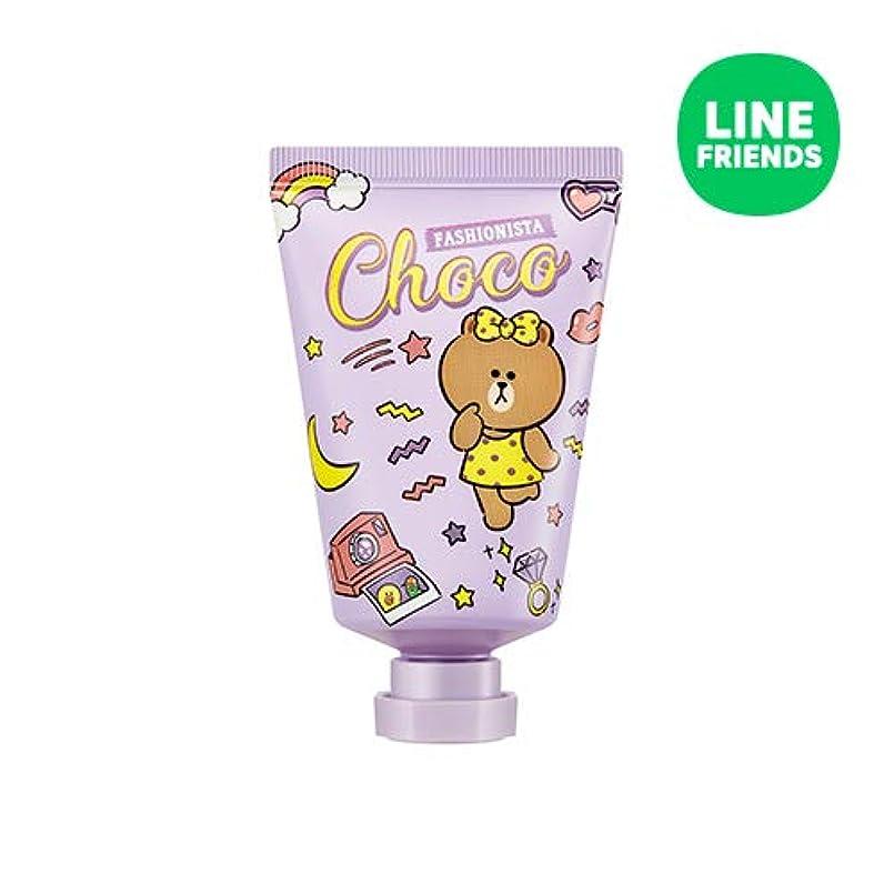 送信するイライラするジャンクションミシャ(ラインフレンズ)ラブシークレットハンドクリーム 30ml MISSHA [Line Friends Edition] Love Secret Hand Cream - Choco # Pitch Cocktail...