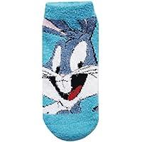 【ルーニー・テューンズ】キャラックス/もっこもこ靴下(バックスバニー/BL) ウインターアイテム 865961