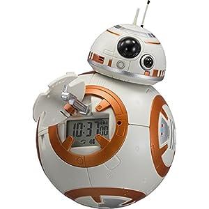 STAR WARS ( スターウォーズ ) BB-8 目覚まし時計 キャラクター デジタル 音声 ・ アクション モデル オレンジ リズム時計 8RDA74MC03