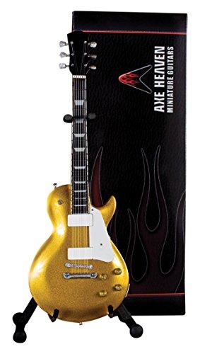 AXE HEAVEN アックスヘブン ゴールドトップ フィニッシュ ミニチュア ギター Gold Top Finish Electric Mini Guitar
