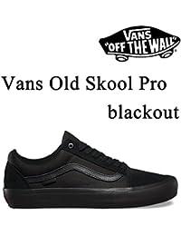VANS(バンズ) VANS(バンズ) OLD SKOOL PRO BLACK OUT オールドスクール プロ  スケートシューズ スニーカー 【C1】