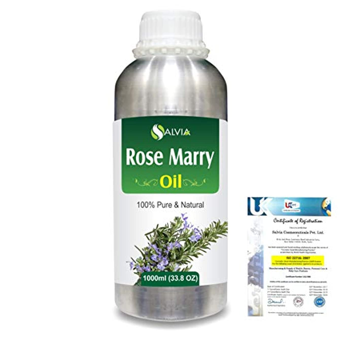 シーボードライトニングアイドルRose Marry (Rosmarinus officinalis) 100% Natural Pure Essential Oil 1000ml/33.8fl.oz.