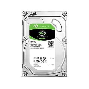 Seagate BarraCuda 2TB【 2年保証  】正規代理店 3.5インチ HDD 内蔵 ハードディスク SATA 6Gb/s 64GB 7200rpm