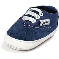 Meckior Infant Baby Boys Girls Canvas Anti Slip Soft Shoes
