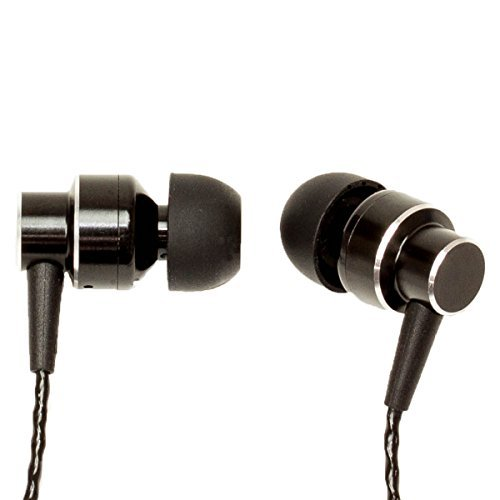 URBAN UTILITY ハイレゾ対応 カナル型 イヤホン ( マイク付き ) < 高音質 / ベリリウム 振動板 採用 > ケーブルバンド 付き 簡易パッケージ ブラック UEHE-EP1BK