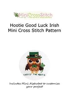Hootie Good Luck Irish Mini Cross Stitch Pattern by [Stitch, Pinoy]