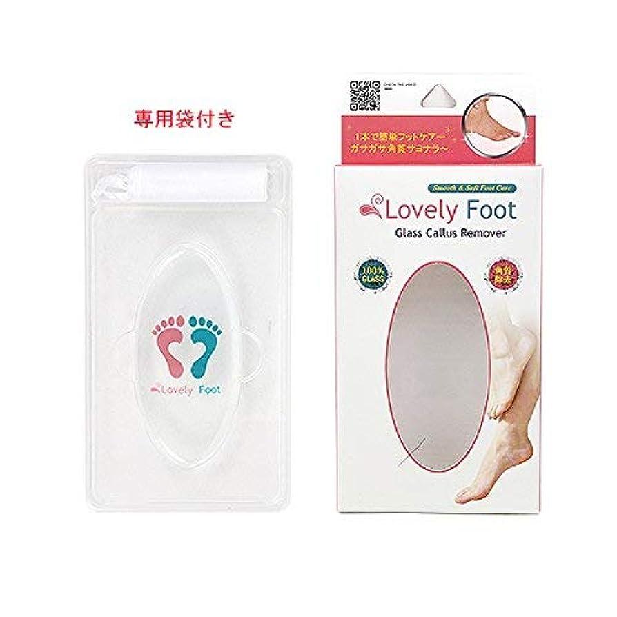 警戒病気のまだらLovely Foot Glass Callus Remover (ガラス角質取り)