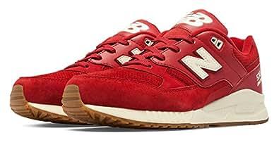 (ニューバランス) New Balance 靴・シューズ メンズスニーカー 530 90s Running Solids Red US 7.5 (25.5cm)