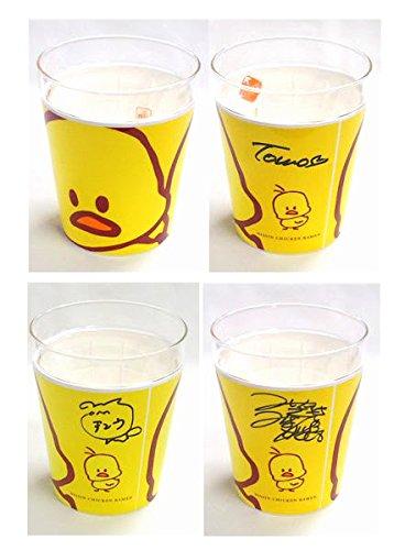 AKB48 板野友美 河西智美 宮崎美穂 直筆サイン入り チキンラーメン ガラスカップ 3個セット