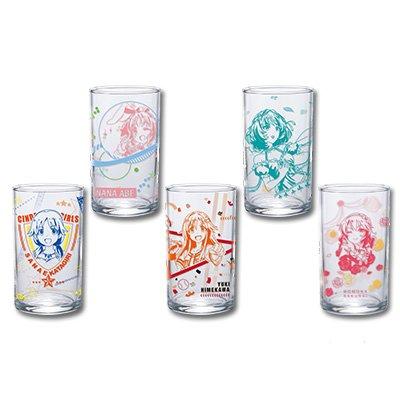 一番くじプレミアム アイドルマスター シンデレラガールズPART3 H賞 グラス 全5種