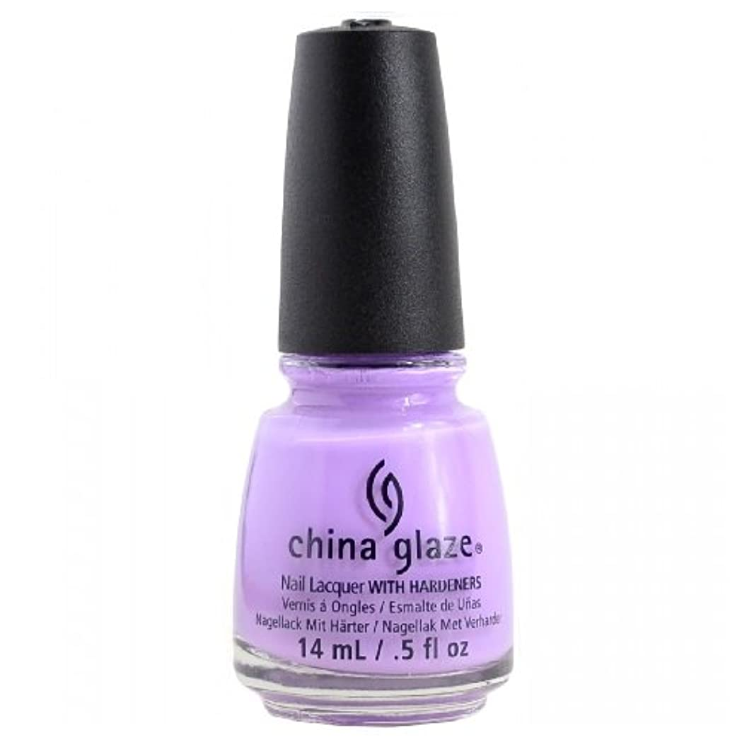 アプローチ汚れた投げ捨てるCHINA GLAZE Nail Lacquer - Art City Flourish - Lotus Begin