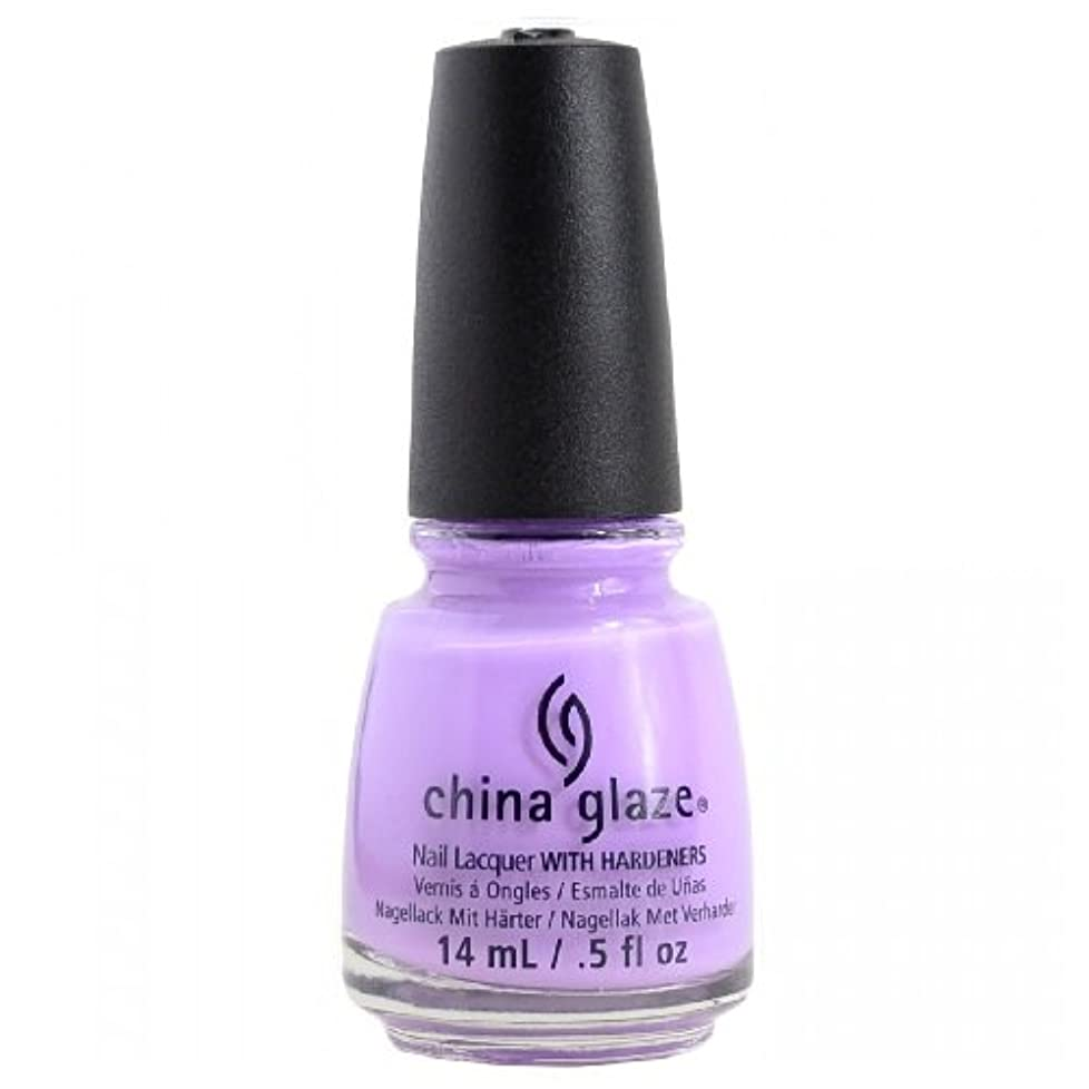 置換リスト含むCHINA GLAZE Nail Lacquer - Art City Flourish - Lotus Begin