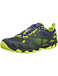Merrell Hurricane Lace Mens Water Sneakers / Shoes - Blue [並行輸入品]