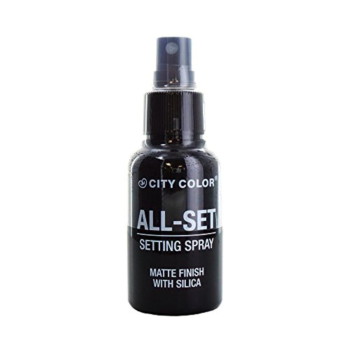 ピッチャー話をする逆(3 Pack) CITY COLOR All-Set Setting Spray (並行輸入品)
