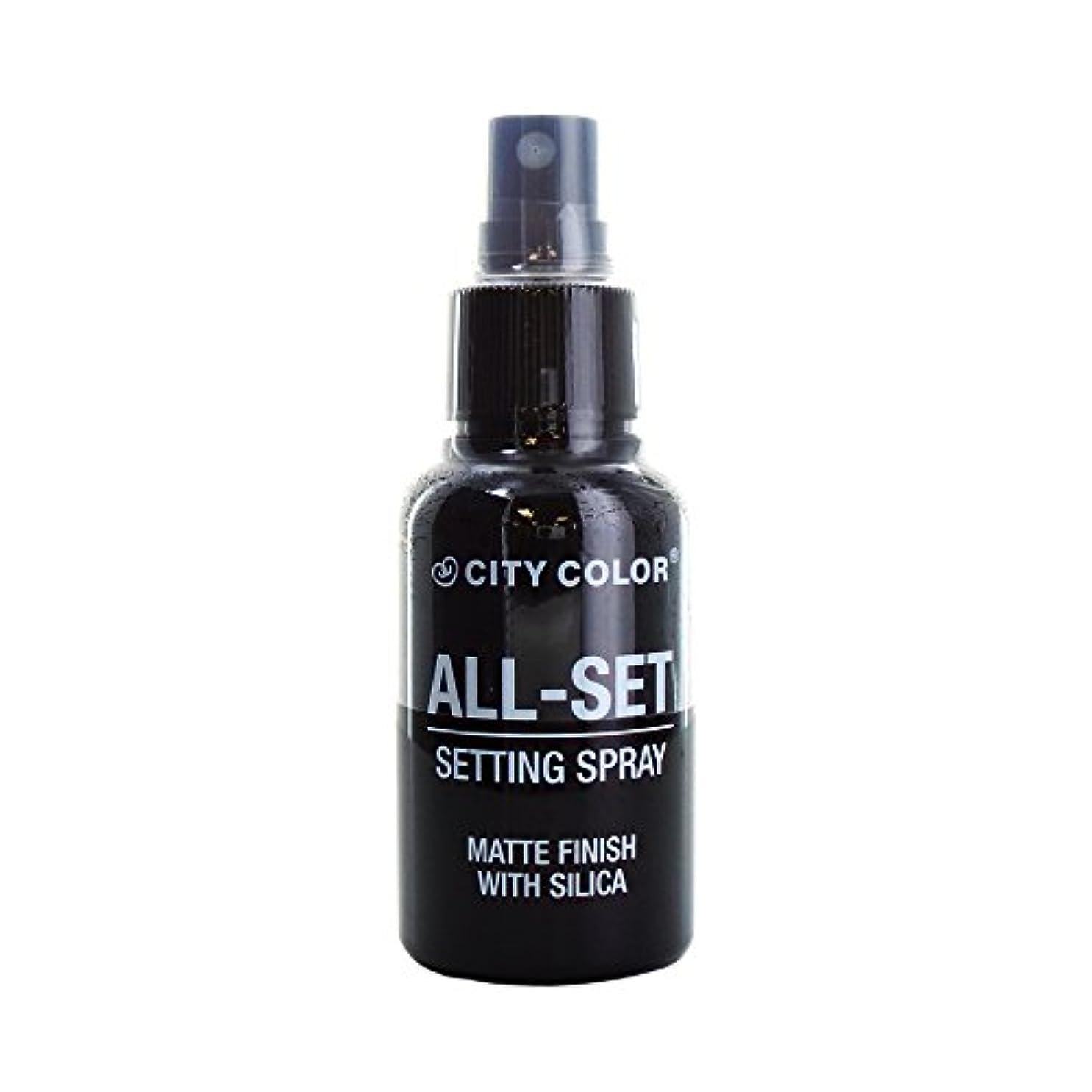 キャンベラサラミスパーク(3 Pack) CITY COLOR All-Set Setting Spray (並行輸入品)