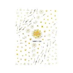 【HANYI-104】アイボリードライフラワーシール ドライフラワーネイル 花柄ネイル フルール 春ネイル ニュアンスネイル 押し花