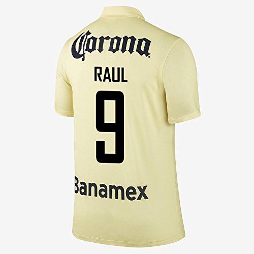 Nike Raul #9 Club America Home Jersey 2014-15 YOUTH/サッカーユニフォーム クラブ・アメリカ ホーム用 ラウール 背番号9 ジュニア向け (YXL)