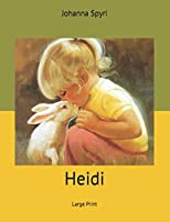 Heidi: Large Print