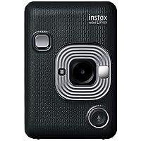 FUJIFILM チェキ インスタントカメラ/スマホプリンター instax mini LiPlay ダークグレイ INS MINI HM1 DARK GRAY