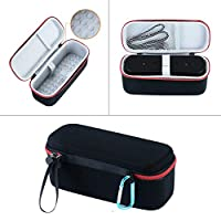 Eva Shockproof Travel Compact Carry Case Bag For Anker Soundcore Pro Wireless Speaker Portable Cover Storage Box-ブラック