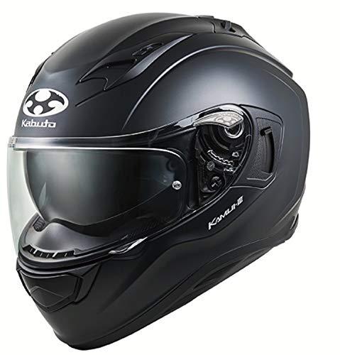 オージーケーカブト(Ogk Kabuto) バイクヘルメット フルフェイス KAMUI3 フラットブラック (サイズ:L) 584832 B07QX6FXM2 1枚目