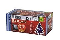タカショー LGI-ST100WBソーラーイルミネーション100球 ホワイト/ブルー 46778500