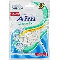 Aim Precision Floss Picks, 60-ct. Packs (Pack of 5) by AIM