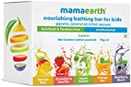 Mamaearth Fruit Based Nourishing Clear Bathing Bar Baby Soap With Glycerine, For Kids ?? 75 Gram X 5