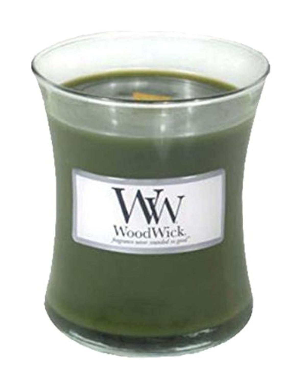 踊り子アーク太字WoodWick Candle, Medium Frasier Fir